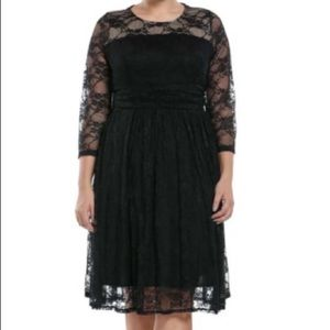 Dresses & Skirts - Lace High Neck Cocktail Dress